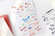 Diary Stickers