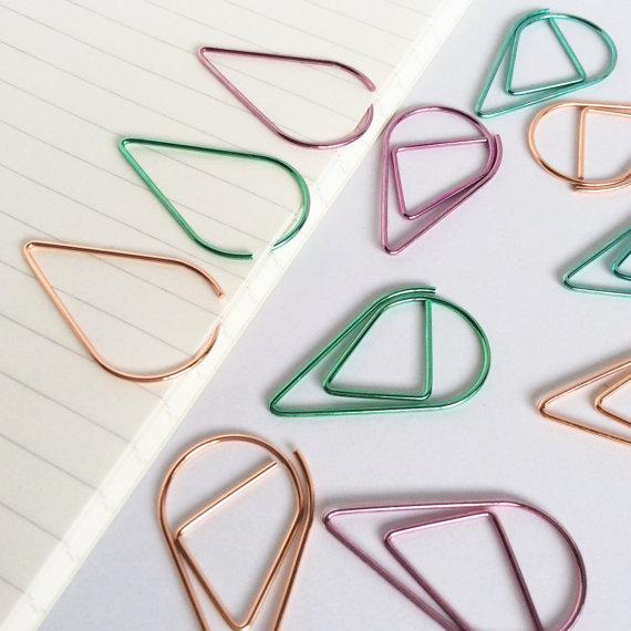 Teardrop Paperclips