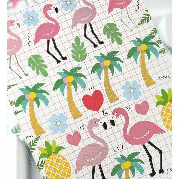 Flamingo Sticker Sheet