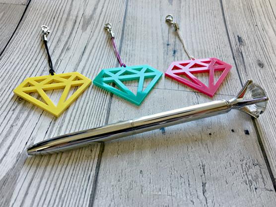 Diamond Planner Charm