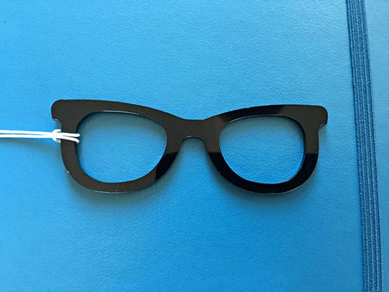 Glasses Planner Charm