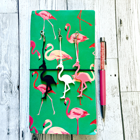 Flamingo Planner Charm