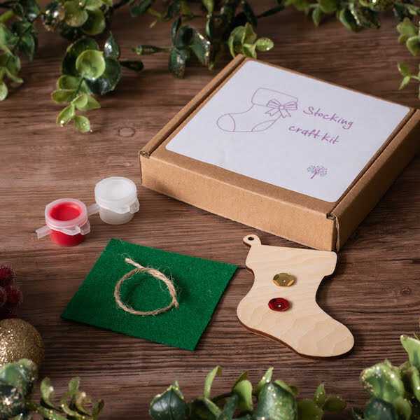 Christmas Stocking Craft Kit