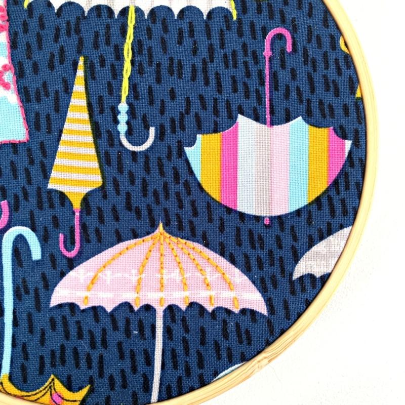 Embroidery Kit - Umbrella