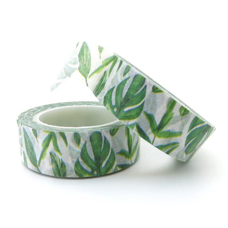Green Leaf Washi Tape