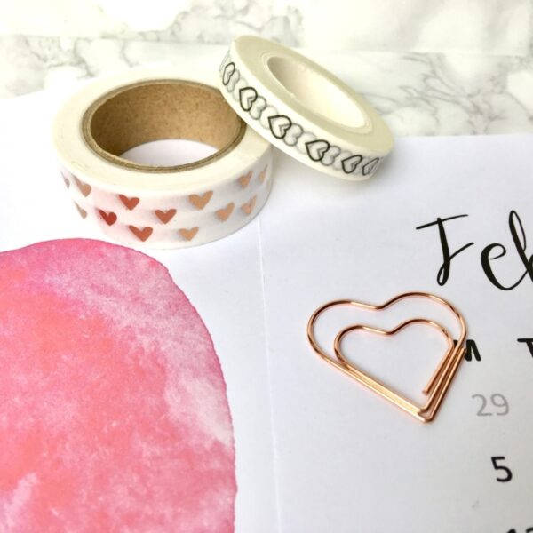 January Stationery Box