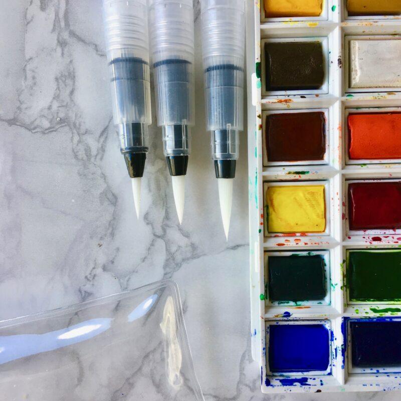 Watercolour Brush Pen