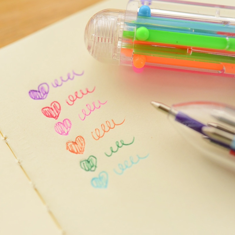 Multi-coloured Pen