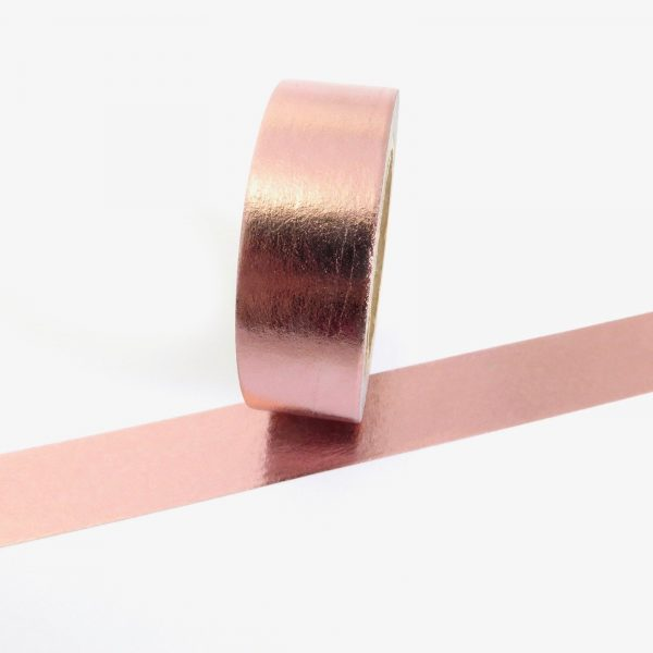 Pink Metallic Washi Tape
