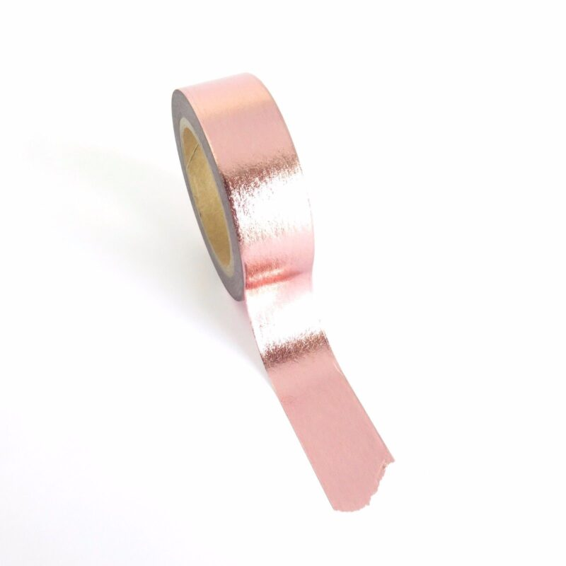 Metallic Pink Washi Tape