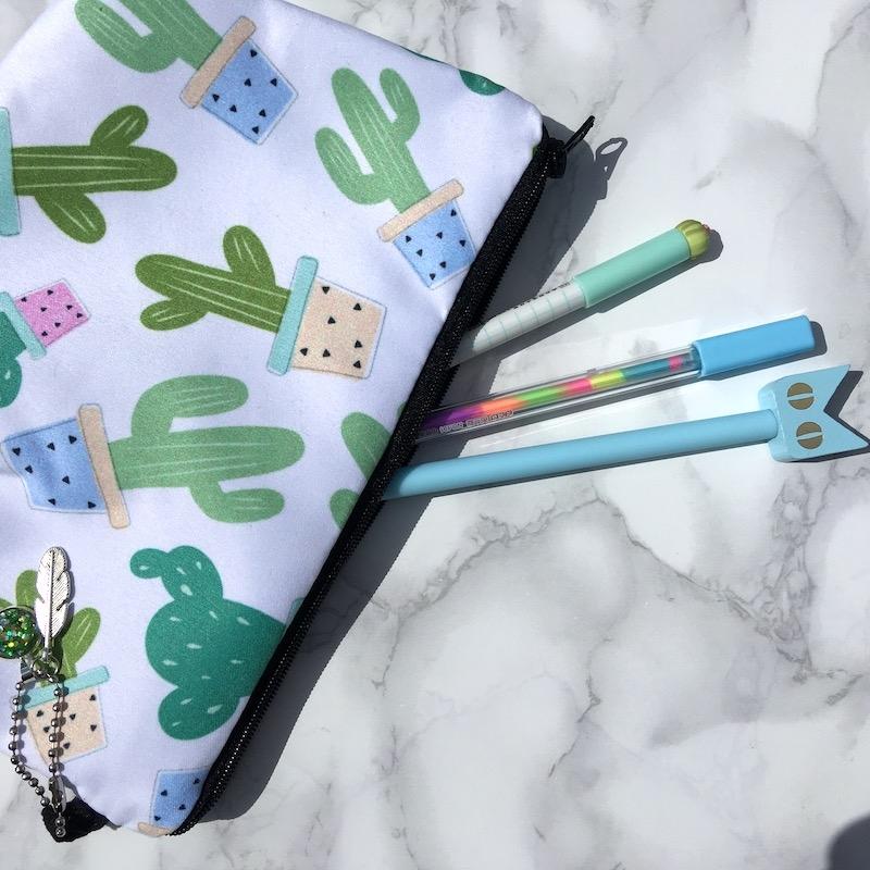 Cactus Pencil Case