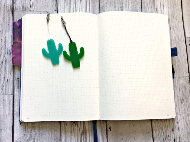 Cactus Planner Charm