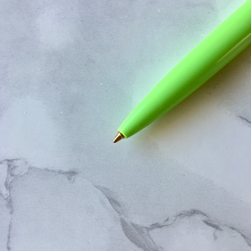 Bic Clic Bright Planner Pen