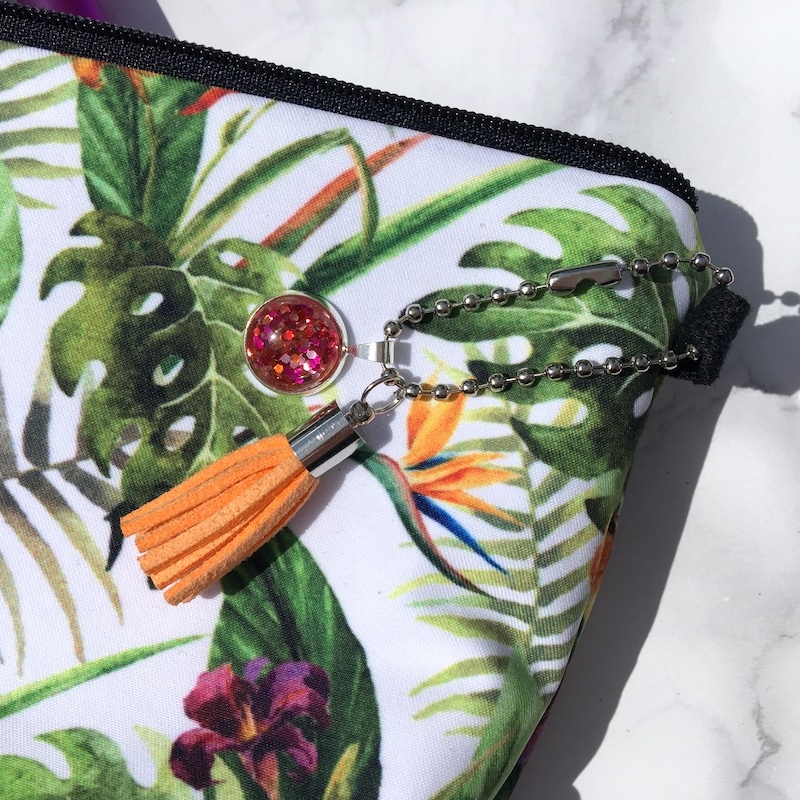 Tropical Flower Pencil Case