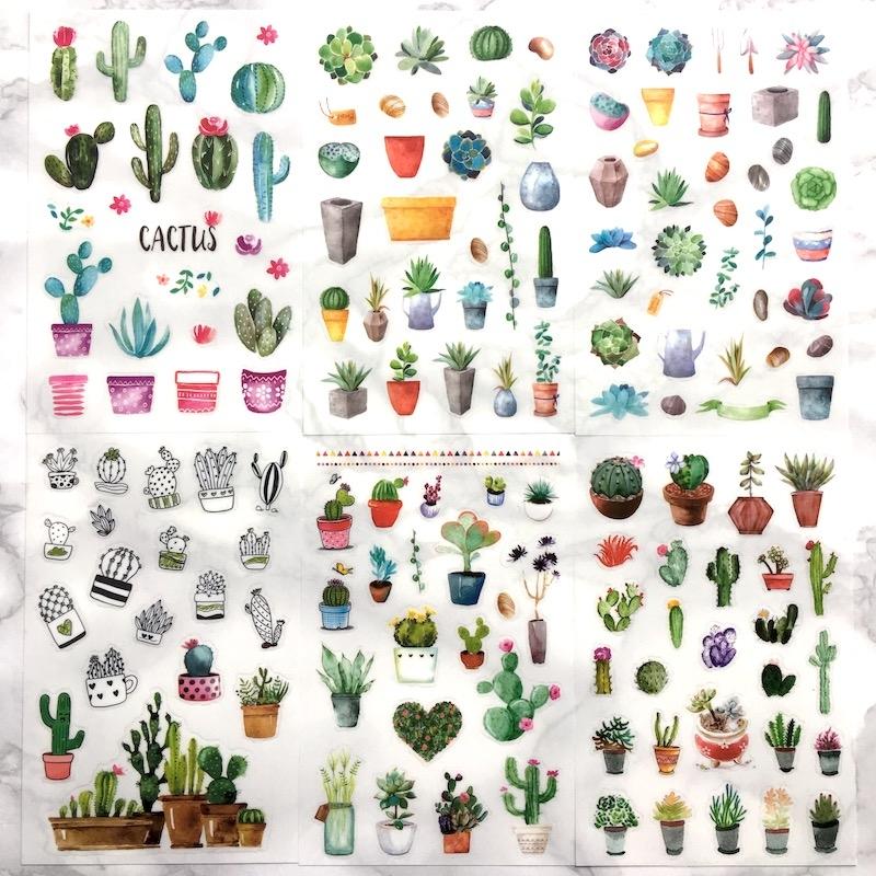 Cacti Stickers