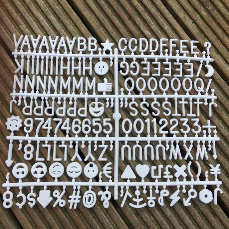 Felt Message Board Symbols