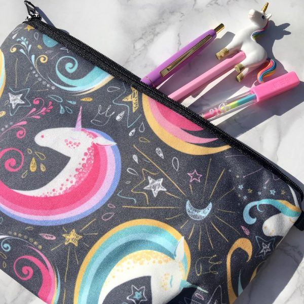 Bold Unicorn Pencil Case
