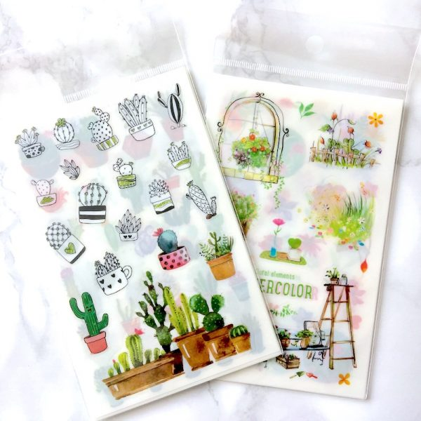 Watercolour Elements Stickers