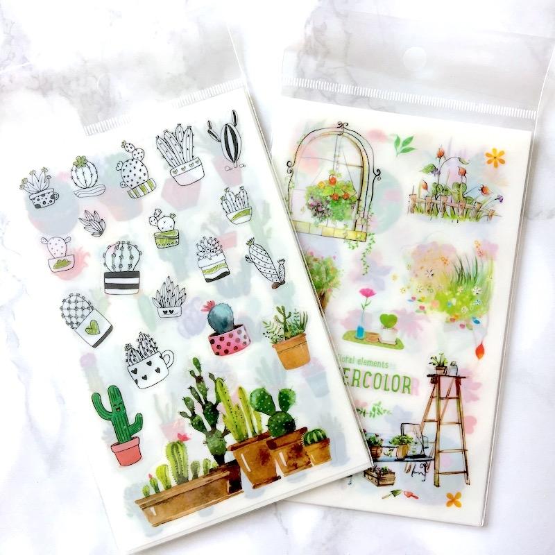 Watercolour Elements Stickers