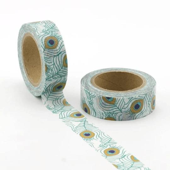 Peacock Washi Tape