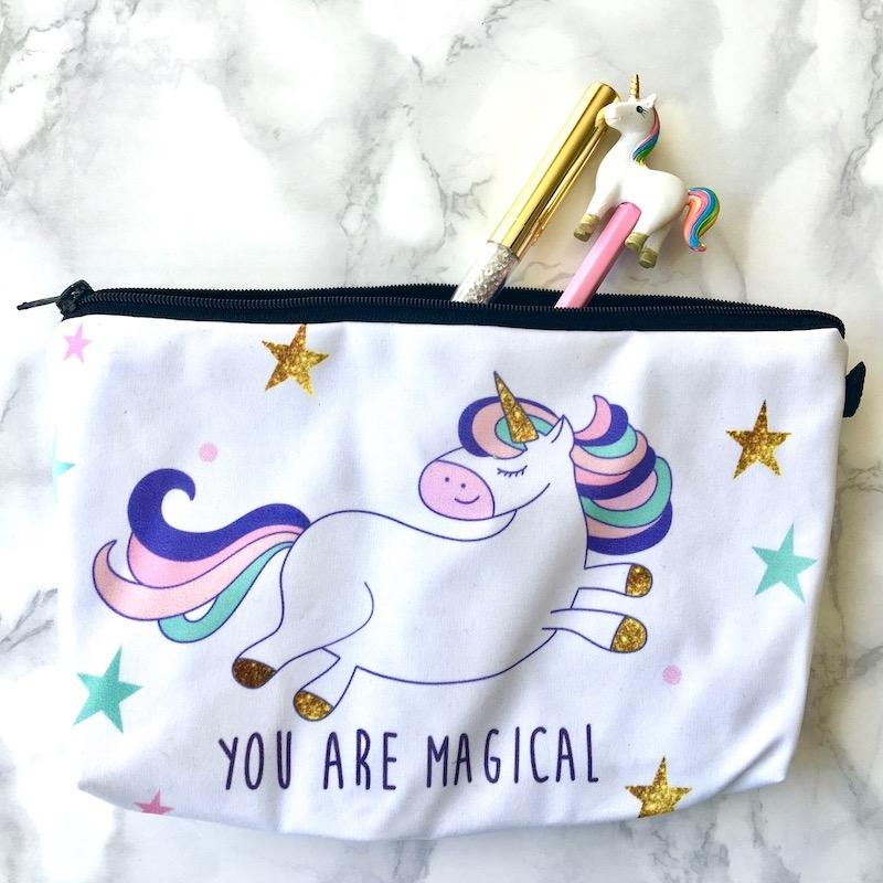 Magical Unicorn Pencil Case