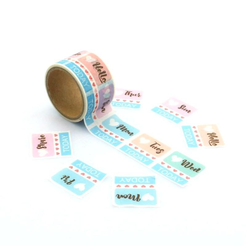 Date Washi Tape