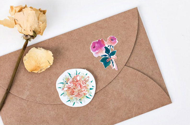 Floral Planner Stickers