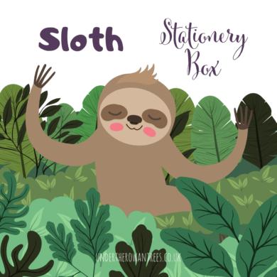 Sloth Stationery Box Subscription
