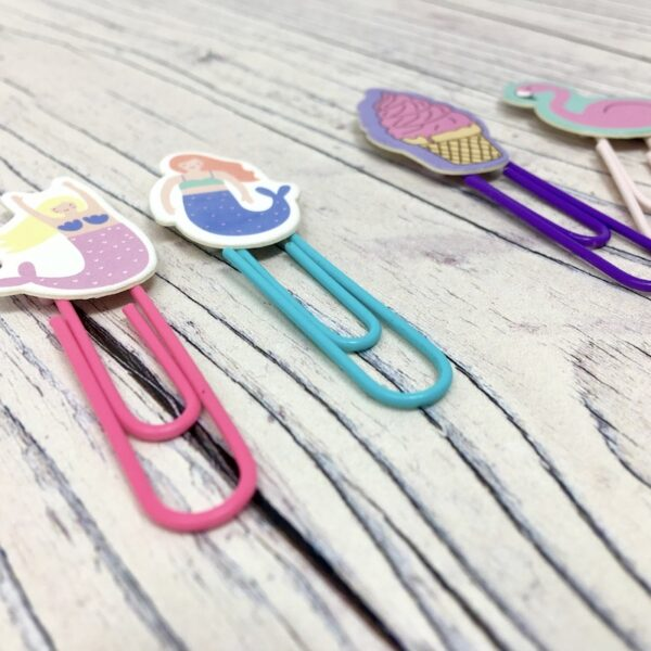 Novelty Planner Clips