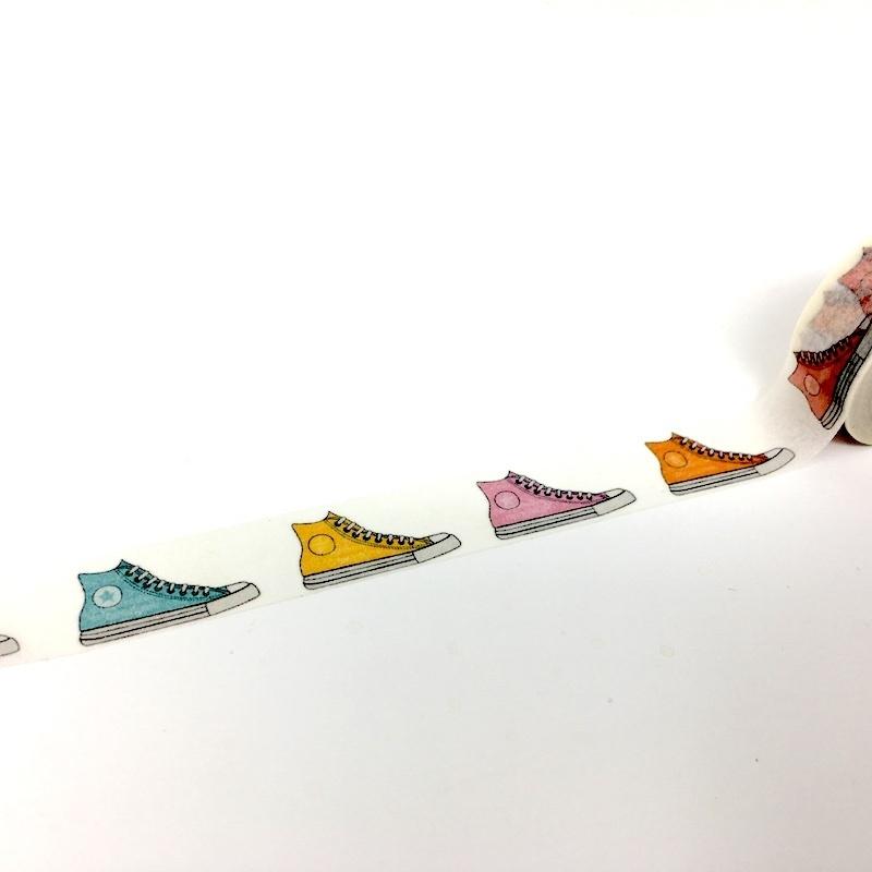 Converse Washi Tape