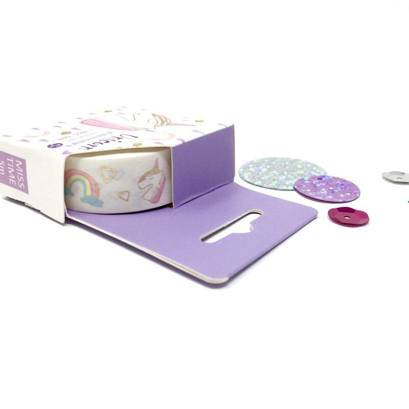 Foiled Unicorn Washi Tape