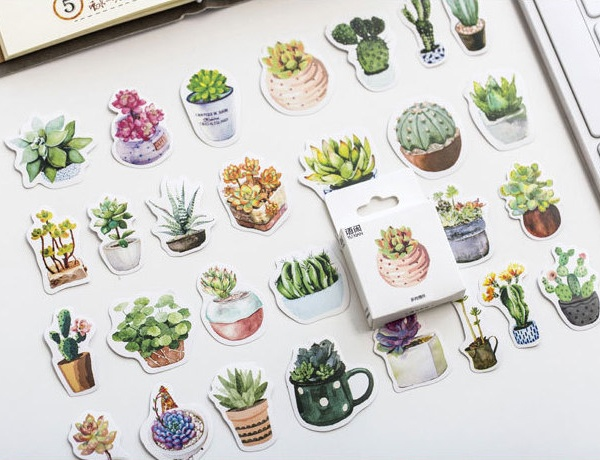 Succulent Planner Stickers