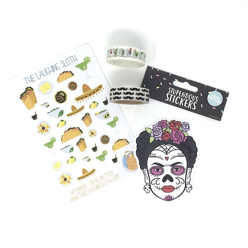 Day of the Dead Stationery Box