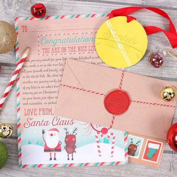 Santa Letter Kit