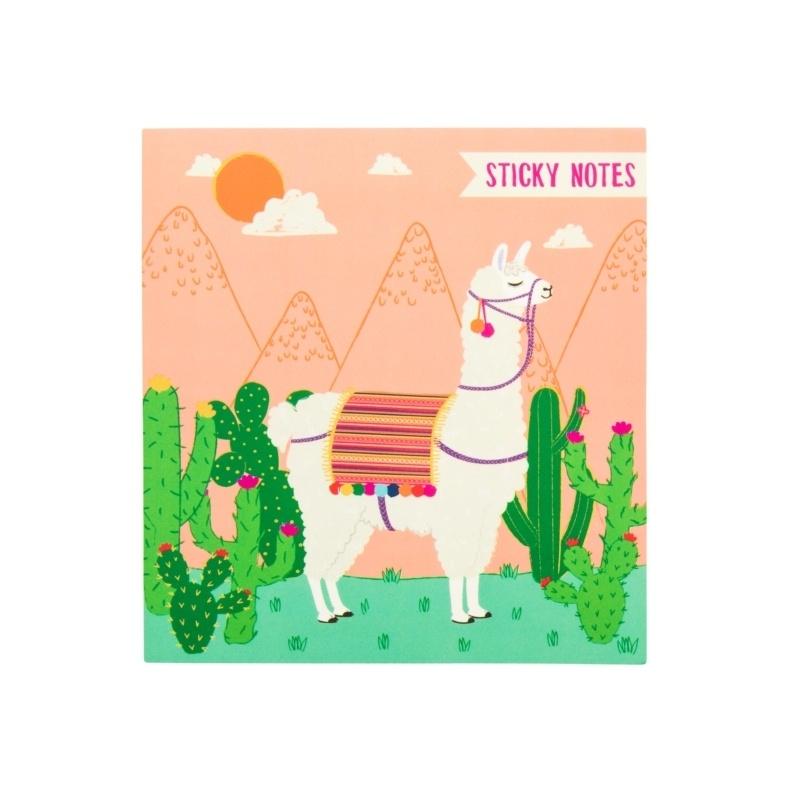Llama Sticky Notes