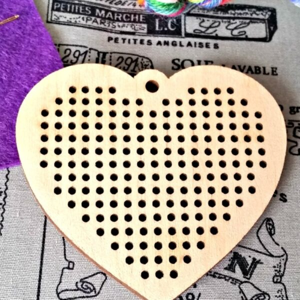 Heart Embroidery Kit