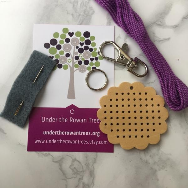 Cross Stitch Kit Flower