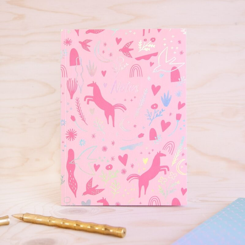A5 Unicorn Notebook