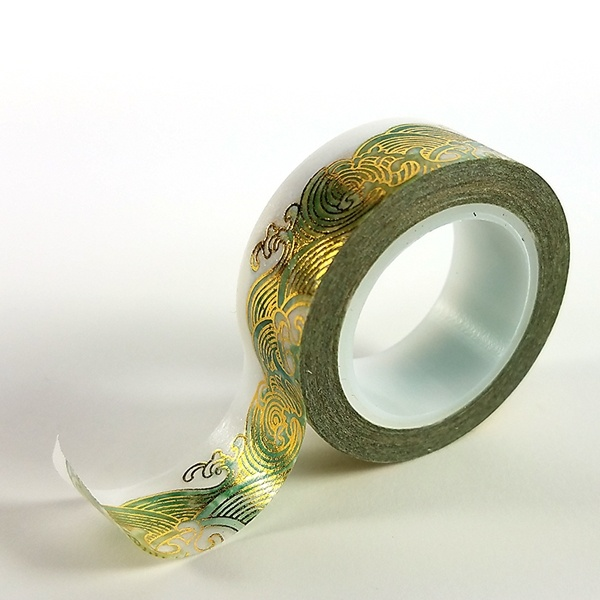 Foil Wave Washi Tape - Clear