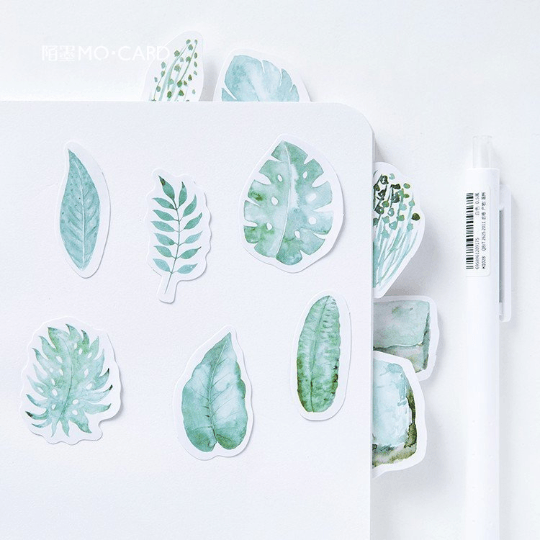 Leaf Planner Stickers