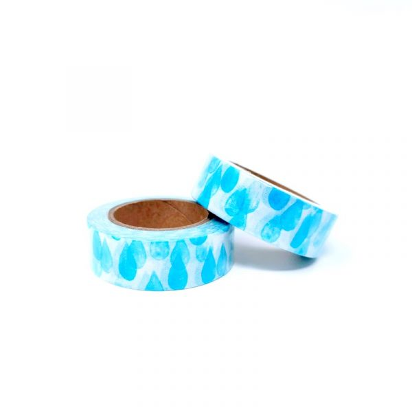 Raindrop Washi Tape