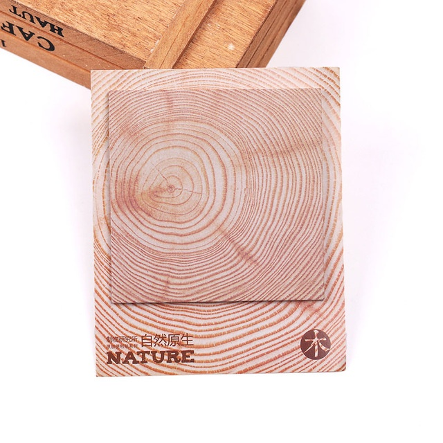 Nature Sticky Notes - Wood