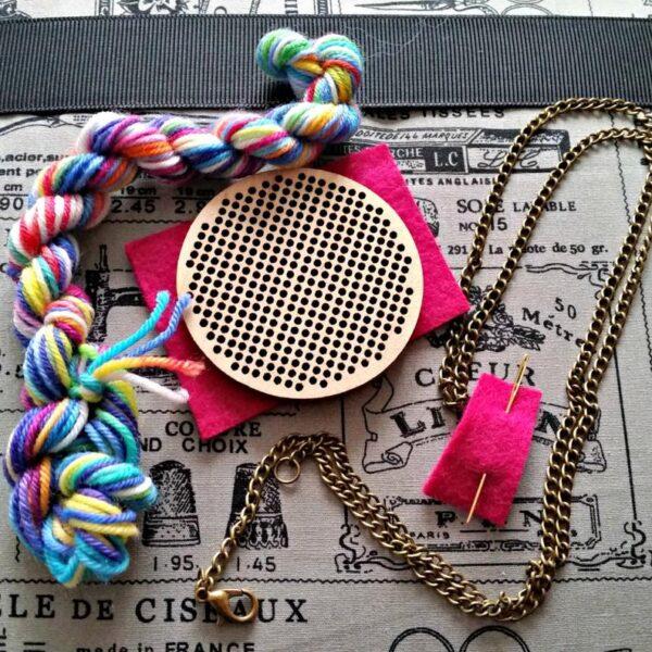 Circle Cross stitch kit