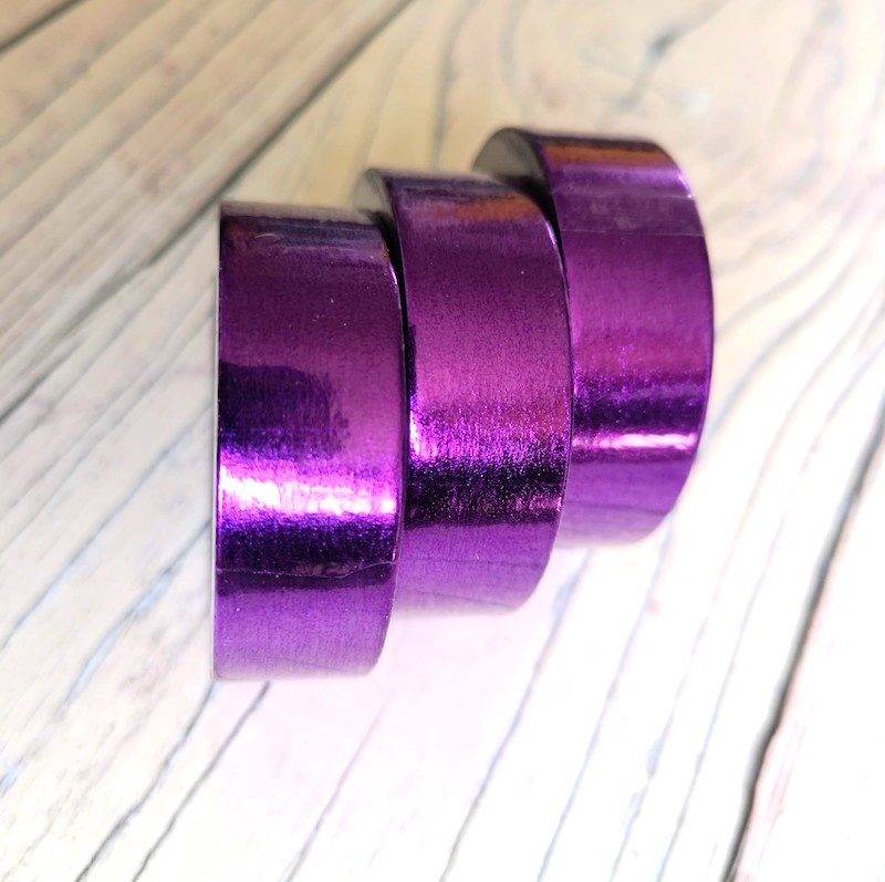 Purple Metallic Washi Tape
