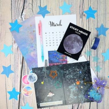 Stargazing Stationery Box