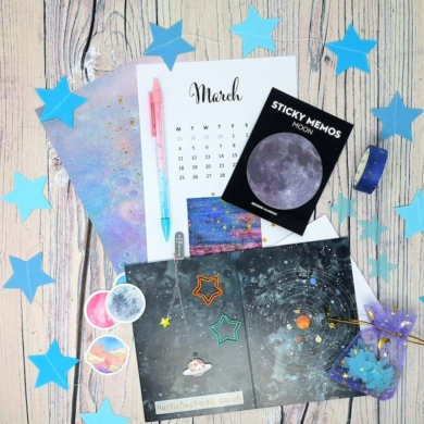 Stargazing Stationery Box