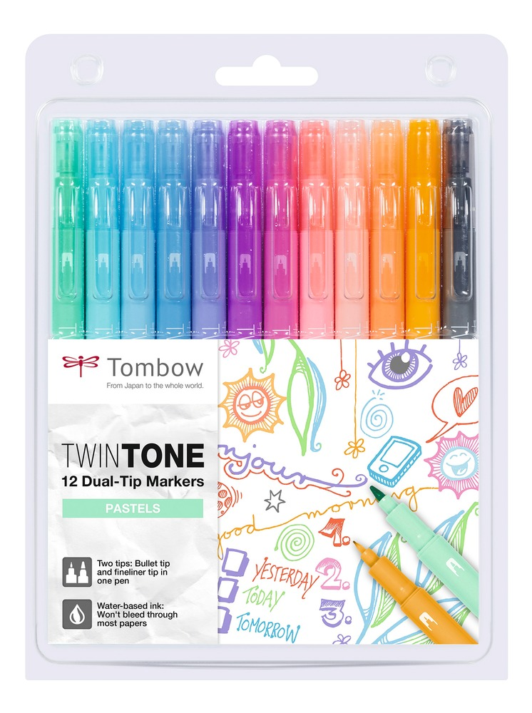 Tombow TwinTone Pastels