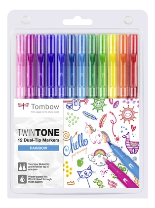 Dual-Tip Markers TwinTone