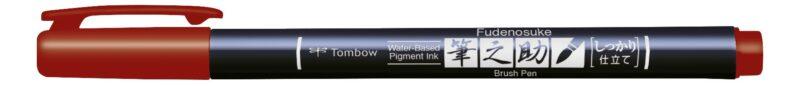 Fudenosuke Colour Calligraphy Pen Pack of 10