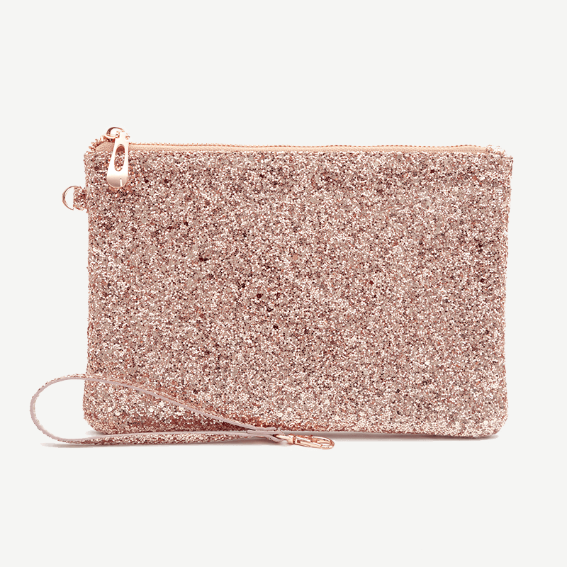All That Glitters - Rose Gold Pouch